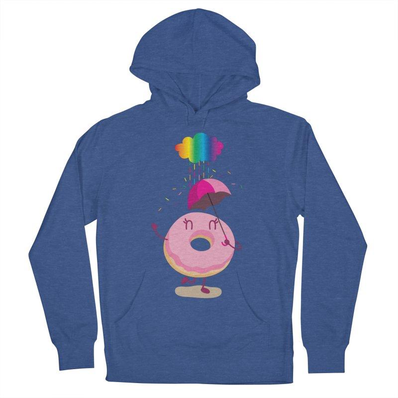 Rainbow Sugar Rain 2 Men's Pullover Hoody by hookeeak's Artist Shop