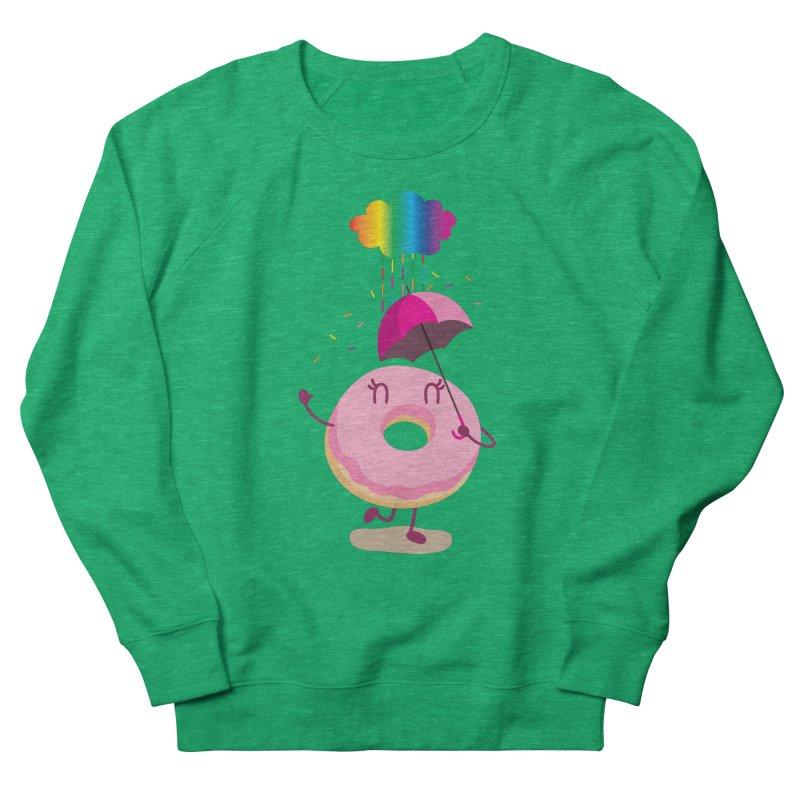 Rainbow Sugar Rain 2 Women's Sweatshirt by hookeeak's Artist Shop