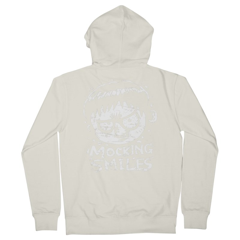 Mocking Smiles Men's Zip-Up Hoody by hookeeak's Artist Shop