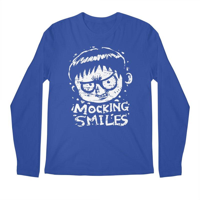 Mocking Smiles Men's Longsleeve T-Shirt by hookeeak's Artist Shop