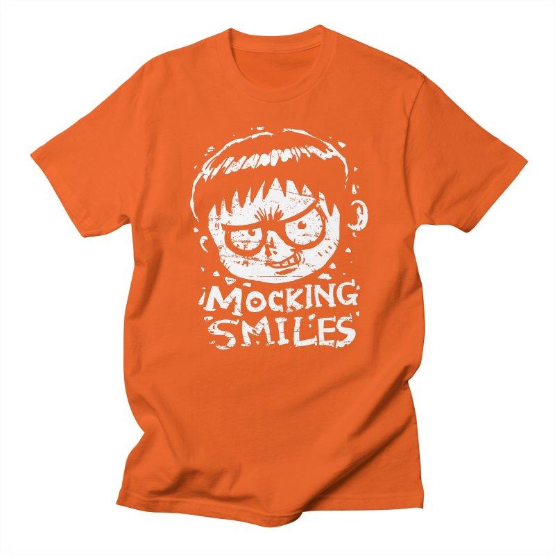 Mocking Smiles Men's T-shirt by hookeeak's Artist Shop