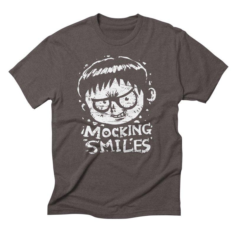 Mocking Smiles Men's Triblend T-Shirt by hookeeak's Artist Shop