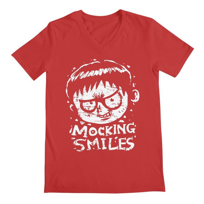Mocking Smiles Men's V-Neck by hookeeak's Artist Shop