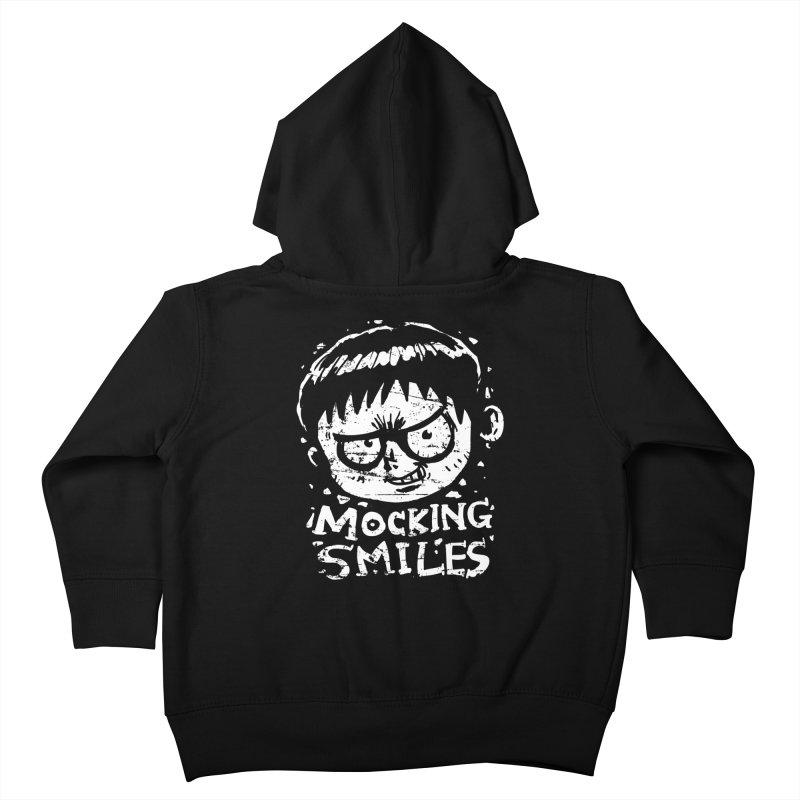 Mocking Smiles Kids Toddler Zip-Up Hoody by hookeeak's Artist Shop
