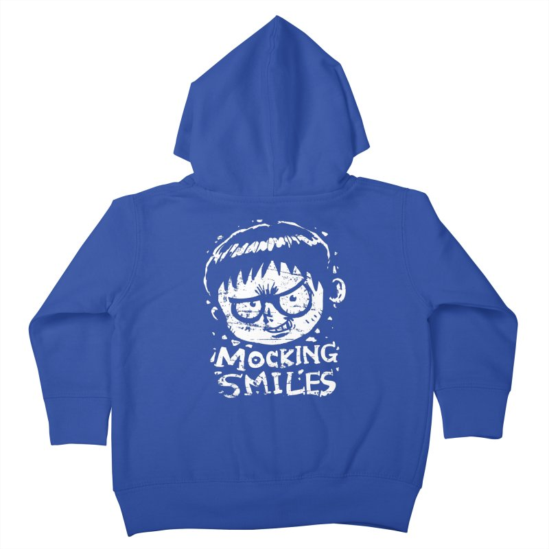 Mocking Smiles Kids Toddler Zip-Up Hoody by hookeeak's Artist Shop