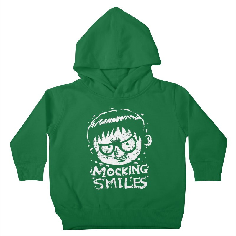 Mocking Smiles Kids Toddler Pullover Hoody by hookeeak's Artist Shop