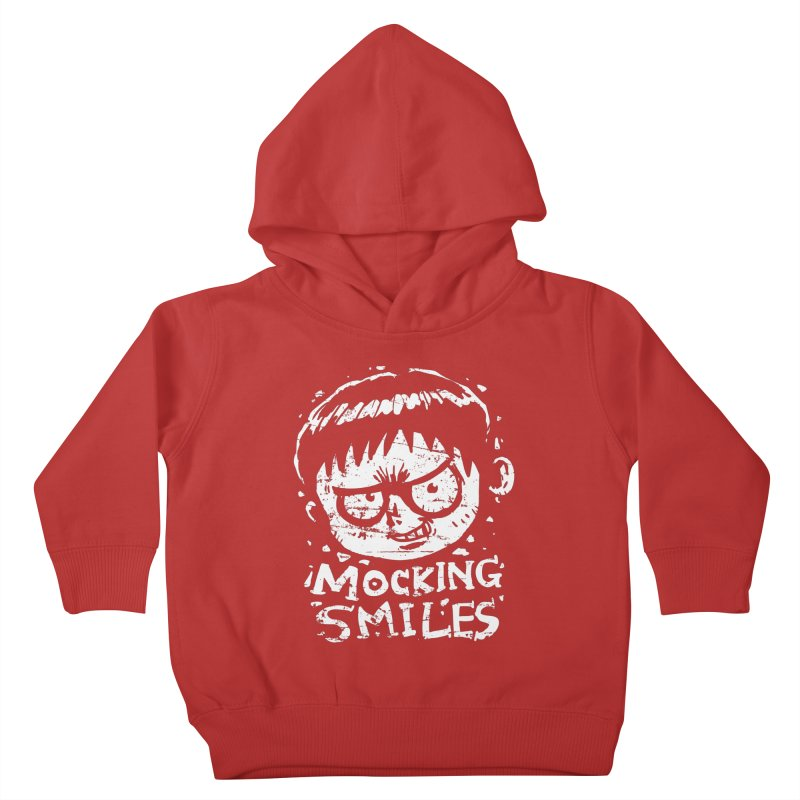 Mocking Smiles Kids Toddler Pullover Hoody by hookeeak's Artist Shop