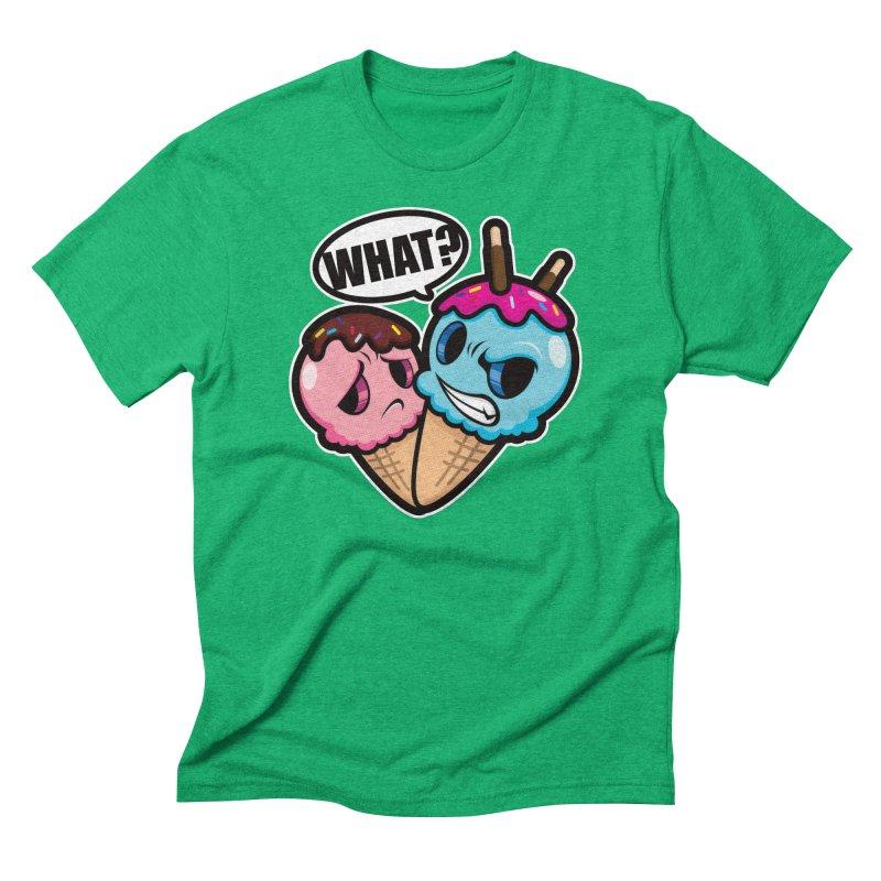 MONSCREAM Men's Triblend T-Shirt by hookeeak's Artist Shop