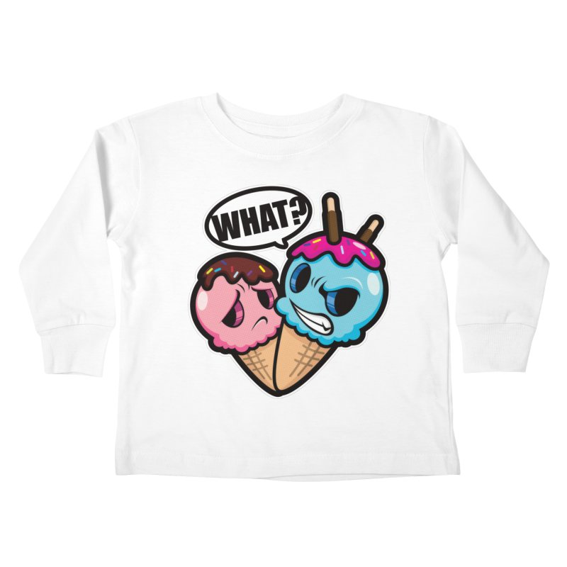 MONSCREAM Kids Toddler Longsleeve T-Shirt by hookeeak's Artist Shop