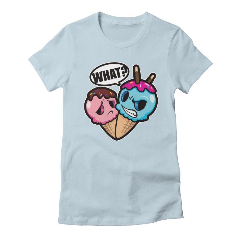 MONSCREAM Women's Fitted T-Shirt by hookeeak's Artist Shop