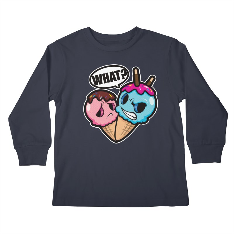 MONSCREAM Kids Longsleeve T-Shirt by hookeeak's Artist Shop