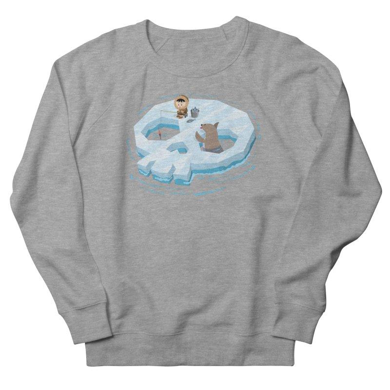 Ice Skull Men's Sweatshirt by hookeeak's Artist Shop