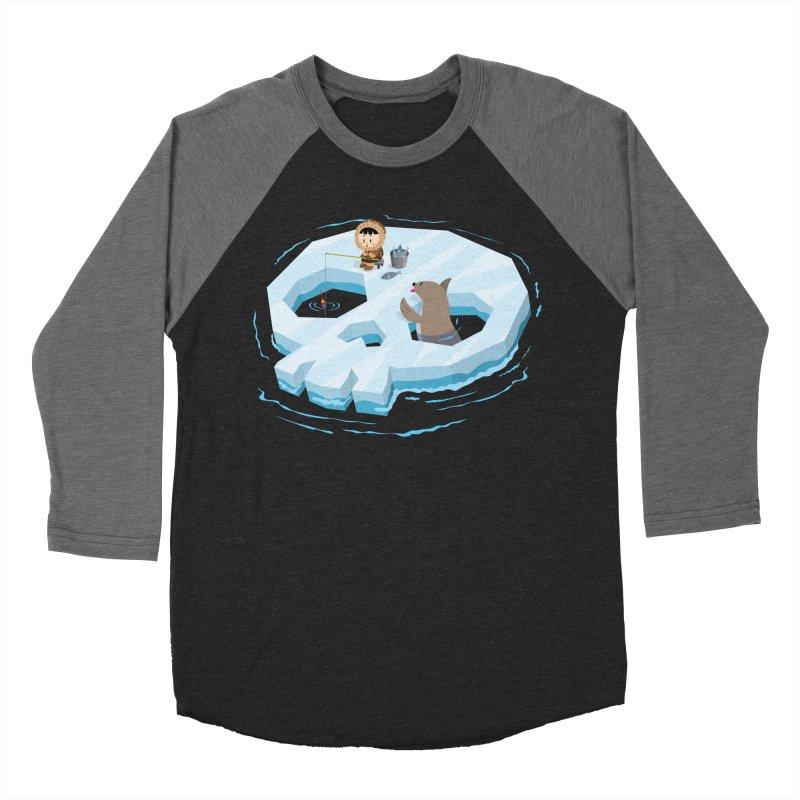 Ice Skull Women's Baseball Triblend T-Shirt by hookeeak's Artist Shop