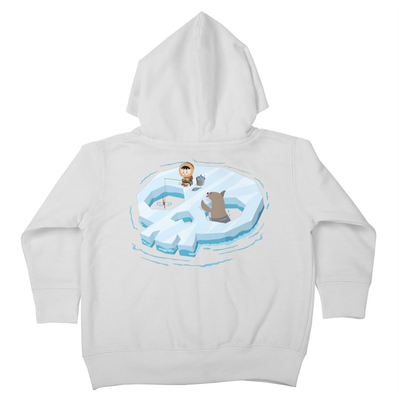 Ice Skull Kids Toddler Zip-Up Hoody by hookeeak's Artist Shop