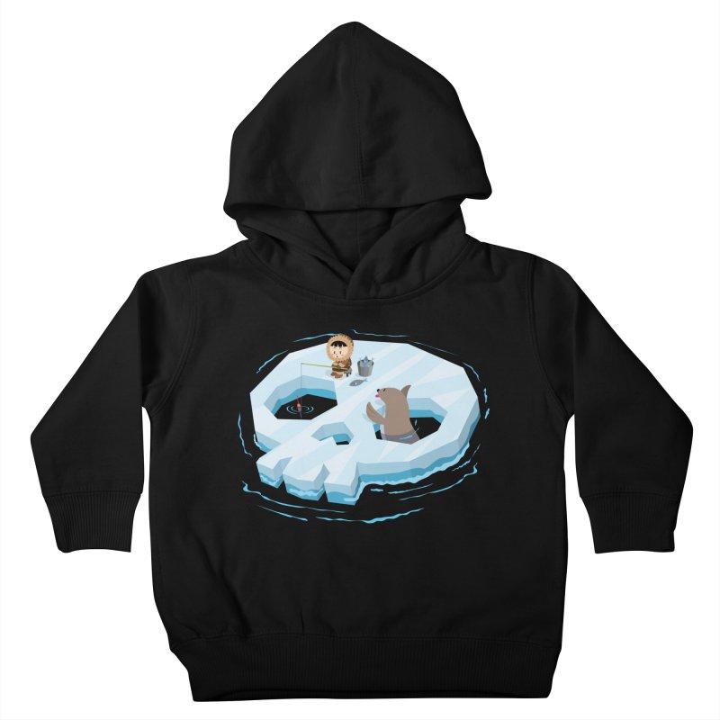 Ice Skull Kids Toddler Pullover Hoody by hookeeak's Artist Shop
