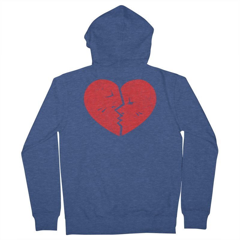 Once We Loved.... Men's Zip-Up Hoody by hookeeak's Artist Shop