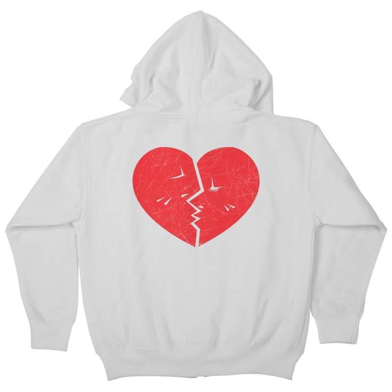 Once We Loved.... Kids Zip-Up Hoody by hookeeak's Artist Shop