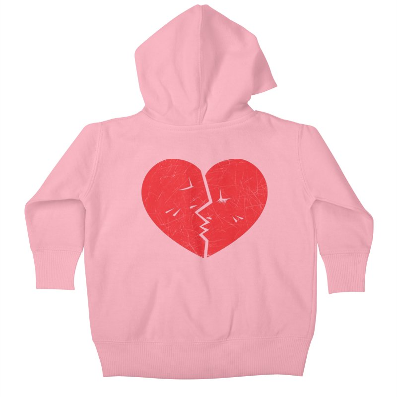Once We Loved.... Kids Baby Zip-Up Hoody by hookeeak's Artist Shop