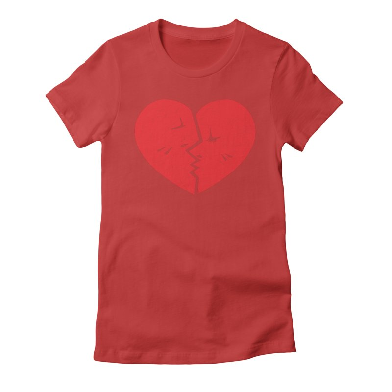 Once We Loved.... Women's Fitted T-Shirt by hookeeak's Artist Shop