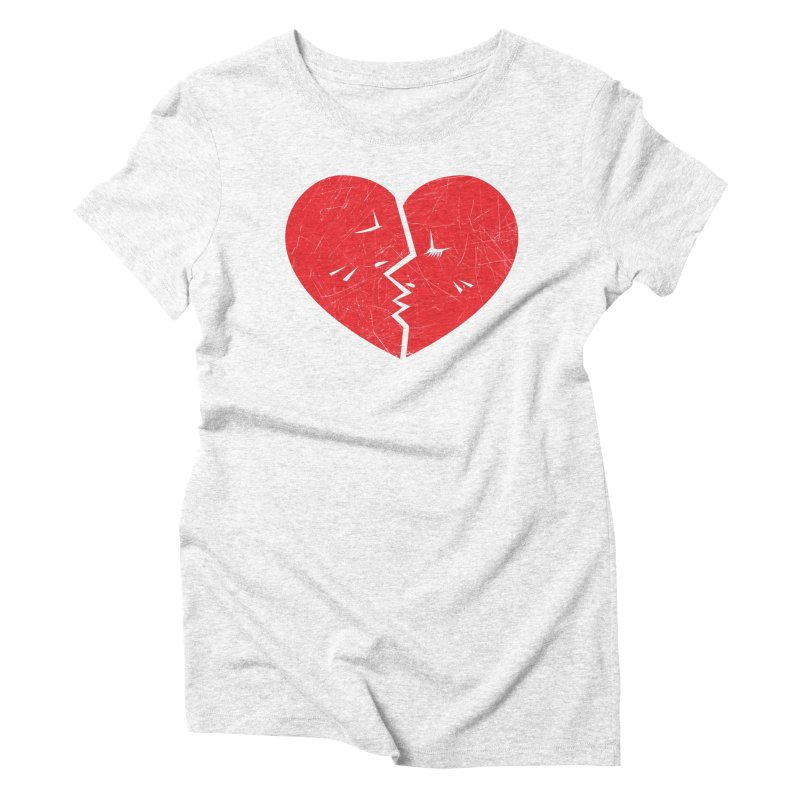 Once We Loved.... Women's Triblend T-shirt by hookeeak's Artist Shop