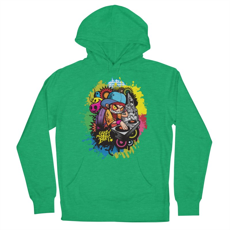 CRAZY MONKEY BEAT 2 Men's Pullover Hoody by hookeeak's Artist Shop