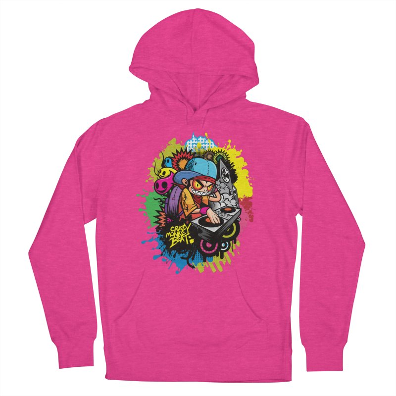 CRAZY MONKEY BEAT 2 Men's Pullover Hoody by hookeeak's Artist Shop