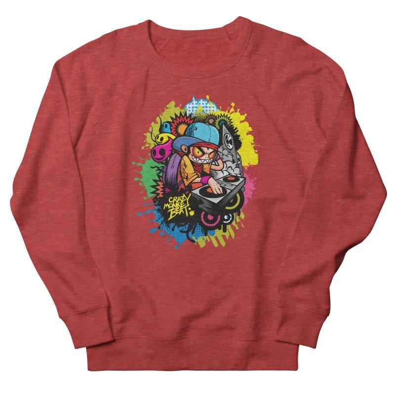 CRAZY MONKEY BEAT 2 Women's Sweatshirt by hookeeak's Artist Shop