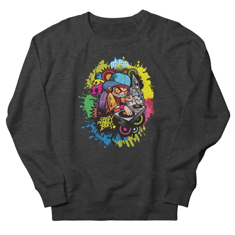 CRAZY MONKEY BEAT 2 Men's Sweatshirt by hookeeak's Artist Shop