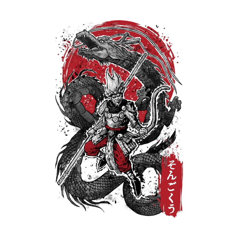b19e25c4c83f The Monkey King Kids T-Shirt by hootbrush s Artist Shop