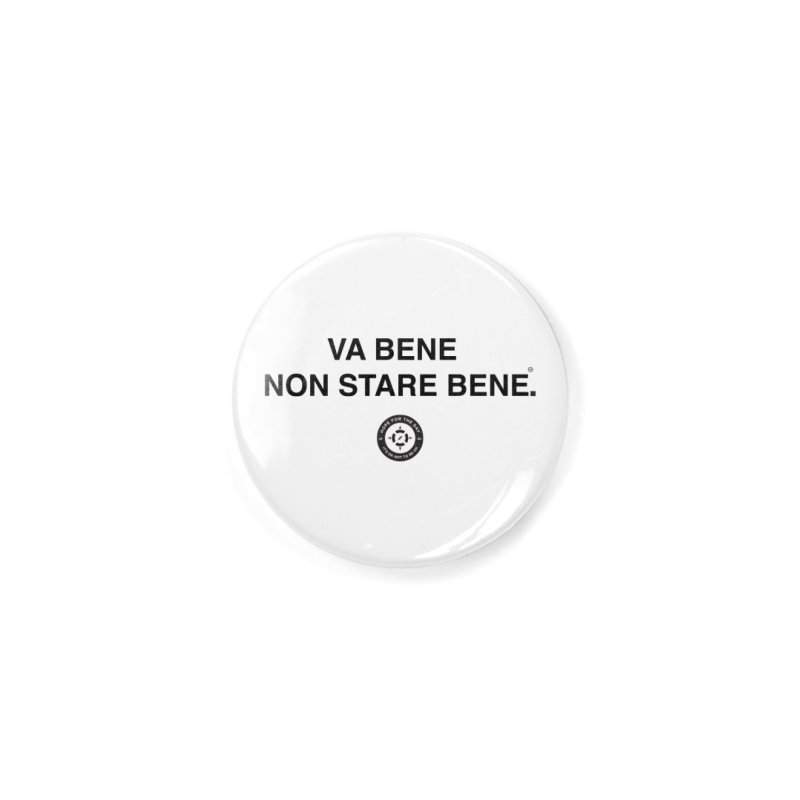 IT'S OK Italian Black Lettering Accessories Button by Hope for the Day Shop