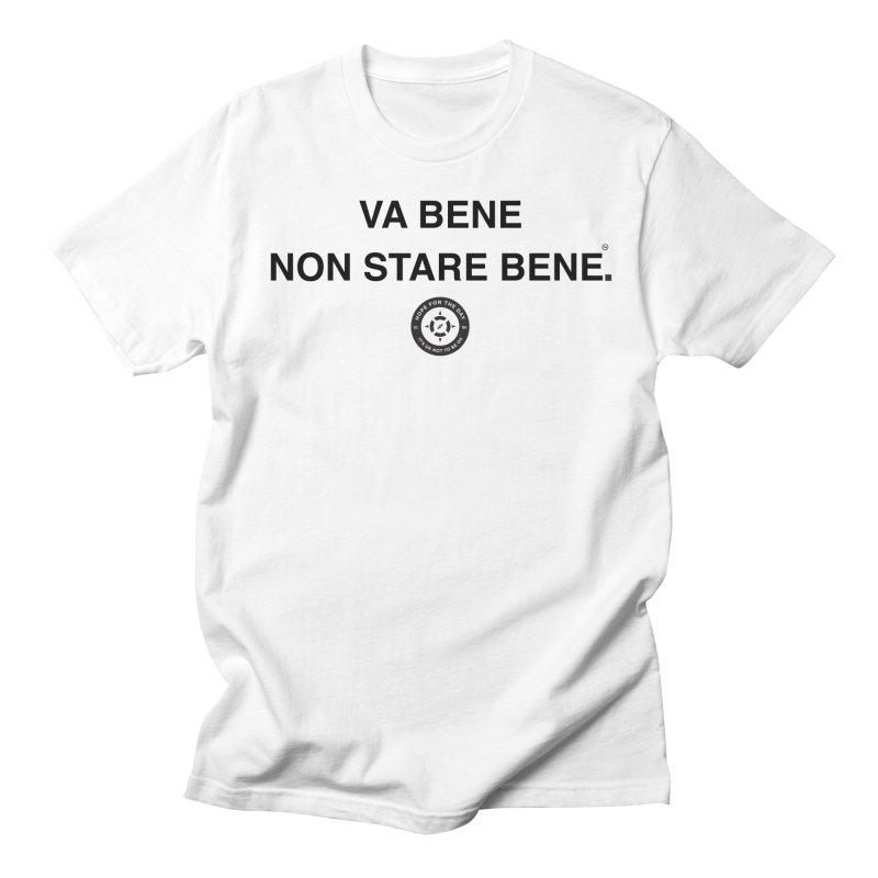 IT'S OK Italian Black Lettering Women's Regular Unisex T-Shirt by Hope for the Day Shop