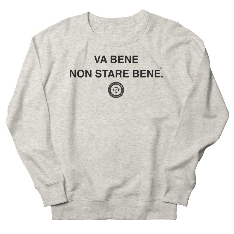 IT'S OK Italian Black Lettering Women's Sweatshirt by Hope for the Day Shop