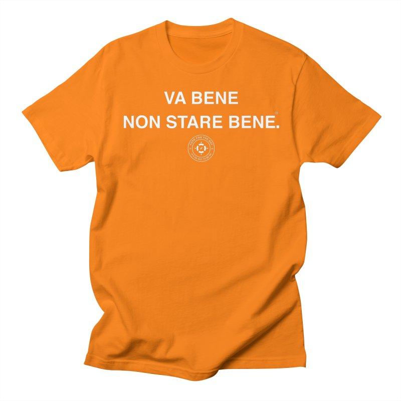 IT'S OK Italian White Lettering Women's Regular Unisex T-Shirt by Hope for the Day Shop