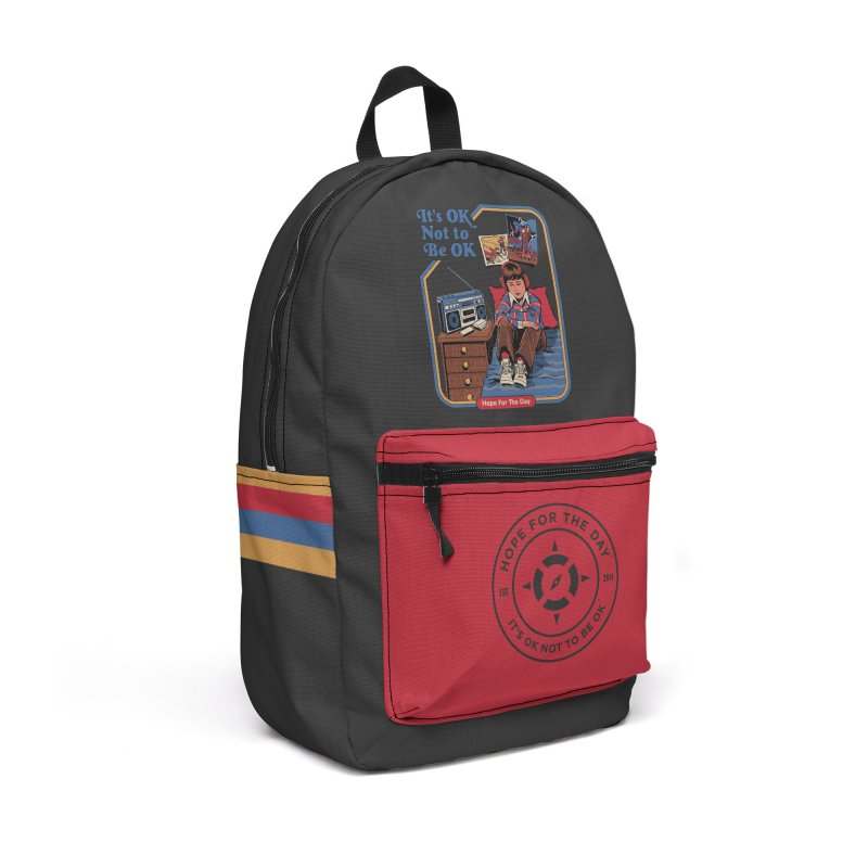 Steven Rhodes - Artist Series Accessories Backpack Bag by Hope for the Day Shop