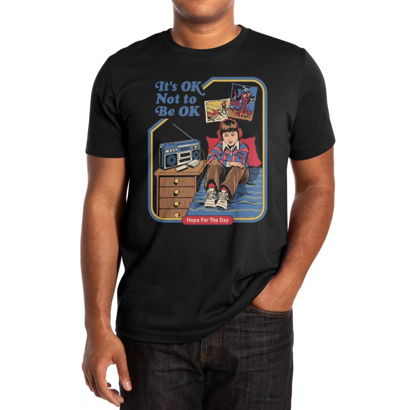 Steven Rhodes - Artist Series Men's T-Shirt by Hope for the Day Shop
