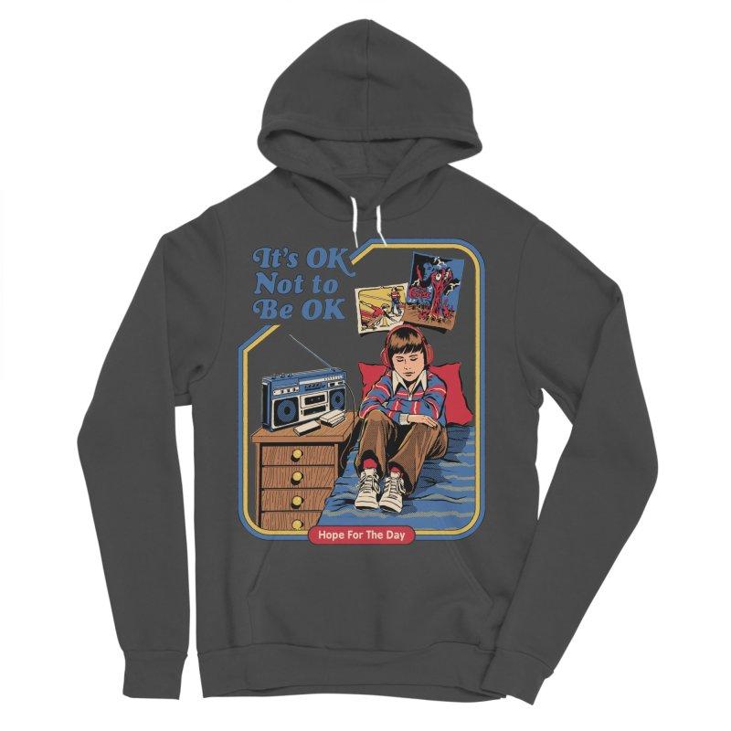 Steven Rhodes - Artist Series Men's Sponge Fleece Pullover Hoody by Hope for the Day Shop