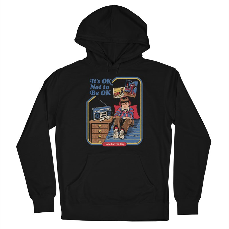 Steven Rhodes - Artist Series Women's French Terry Pullover Hoody by Hope for the Day Shop