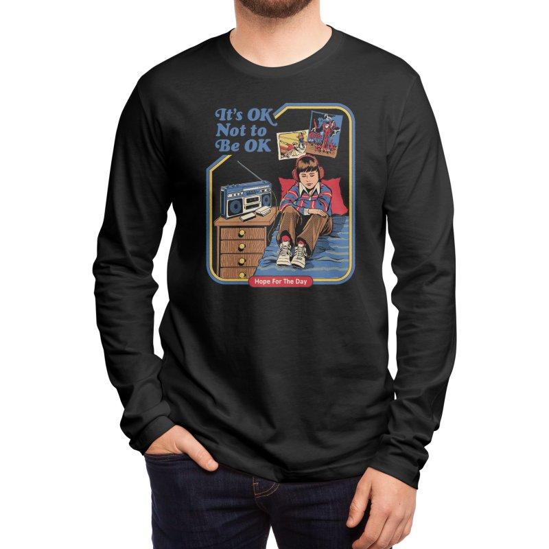 Steven Rhodes - Artist Series Men's Longsleeve T-Shirt by Hope for the Day Shop