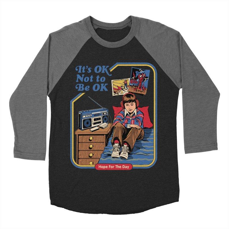 Steven Rhodes - Artist Series Women's Baseball Triblend Longsleeve T-Shirt by Hope for the Day Shop