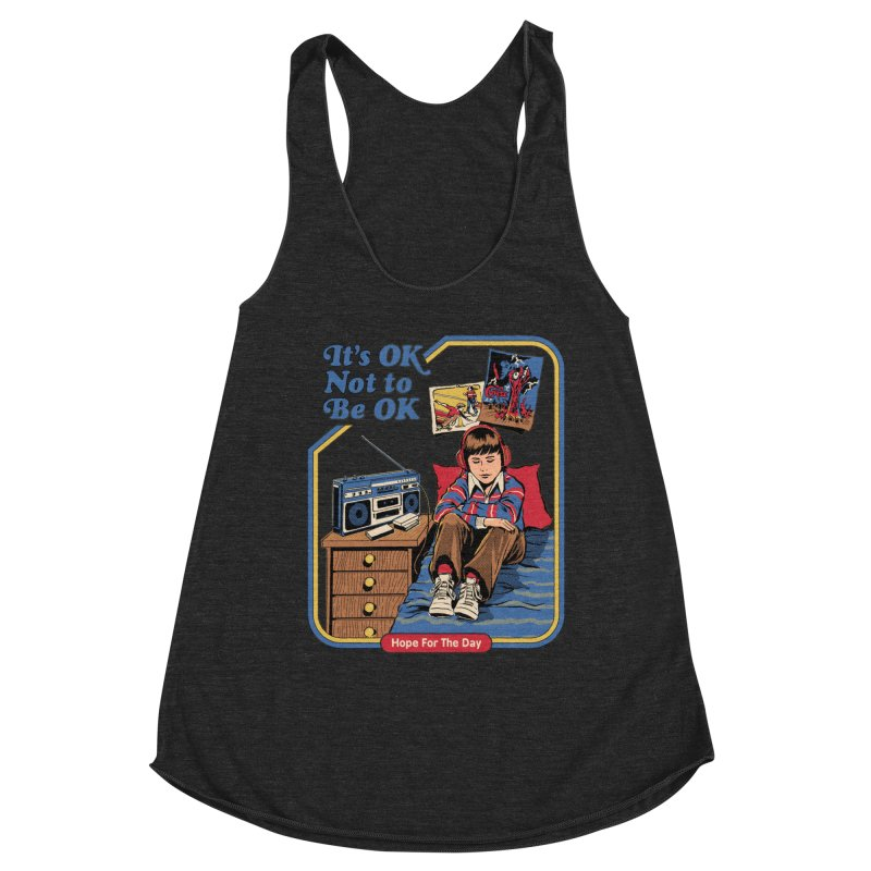 Steven Rhodes - Artist Series Women's Racerback Triblend Tank by Hope for the Day Shop