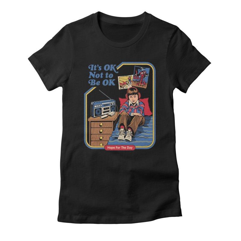 Steven Rhodes - Artist Series Women's T-Shirt by Hope for the Day Shop