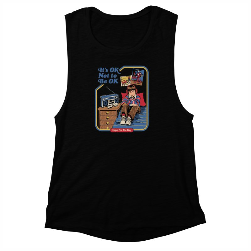 Steven Rhodes - Artist Series Women's Muscle Tank by Hope for the Day Shop
