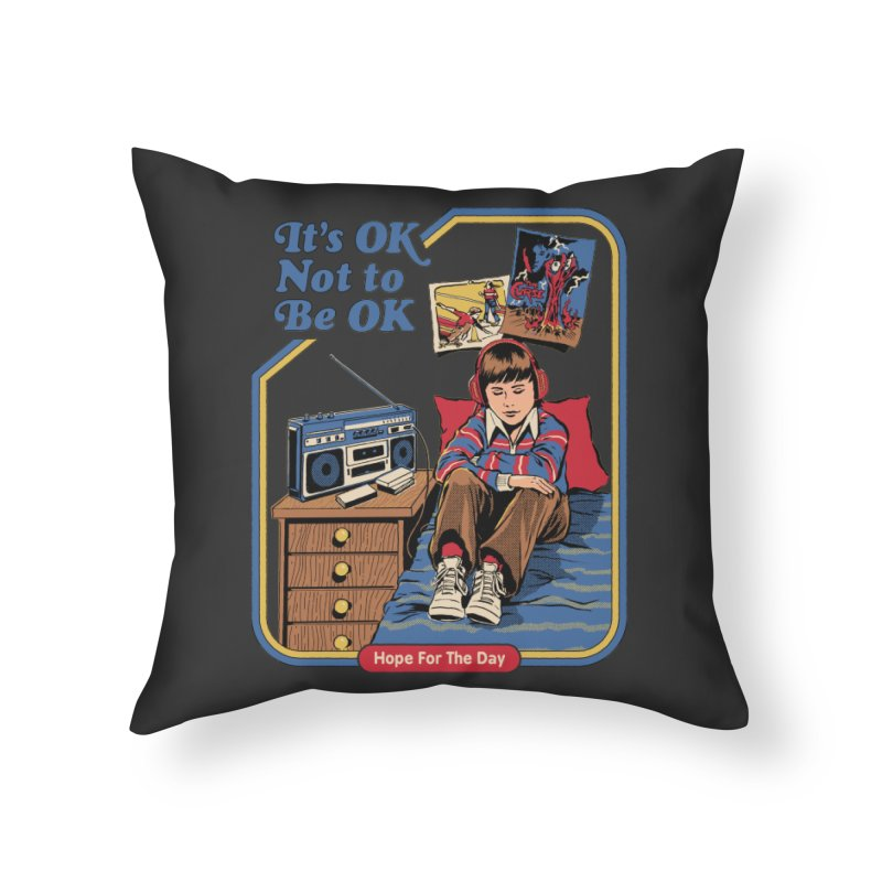Steven Rhodes - Artist Series Home Throw Pillow by Hope for the Day Shop