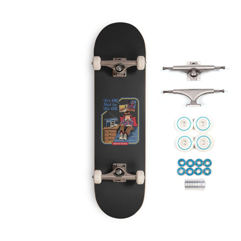 Steven Rhodes - Artist Series Accessories Complete - Basic Skateboard by Hope for the Day Shop