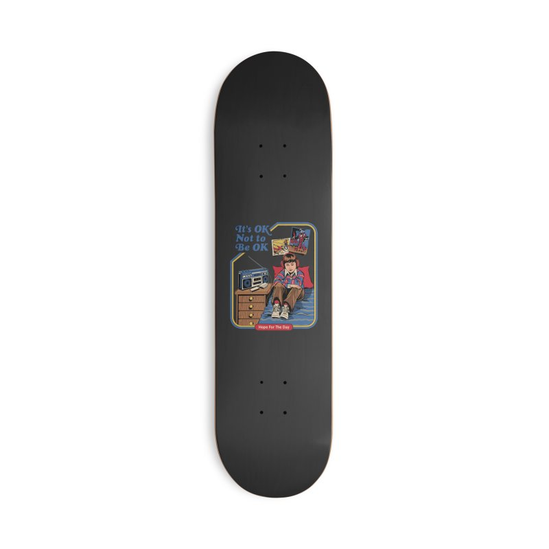 Steven Rhodes - Artist Series Accessories Deck Only Skateboard by Hope for the Day Shop