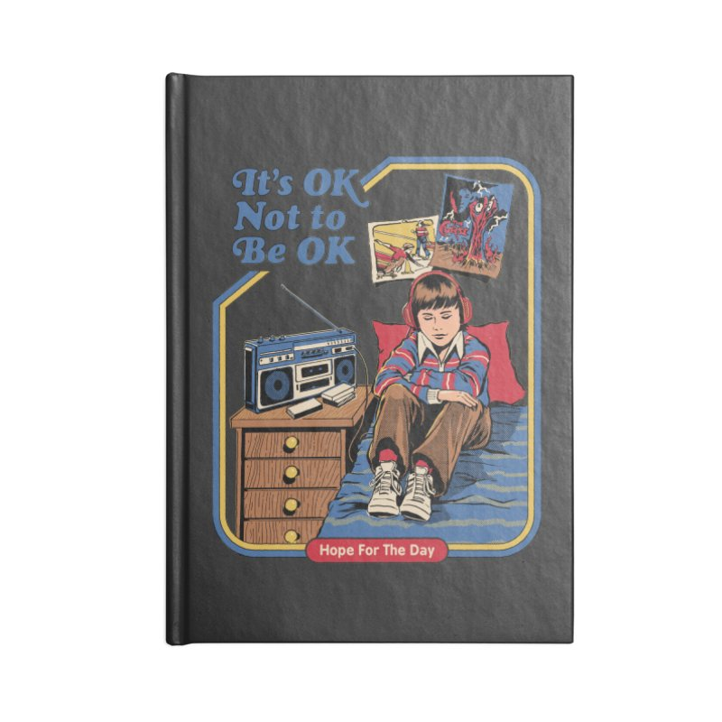 Steven Rhodes - Artist Series Accessories Blank Journal Notebook by Hope for the Day Shop