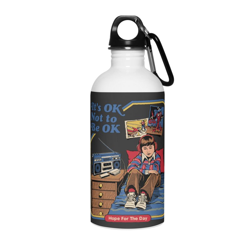 Steven Rhodes - Artist Series Accessories Water Bottle by Hope for the Day Shop