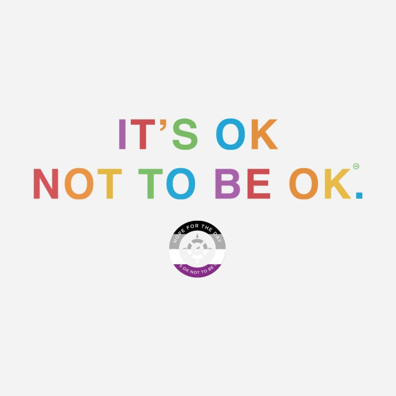IT'S OK Asexual Flag Women's Scoop Neck by Hope for the Day Shop