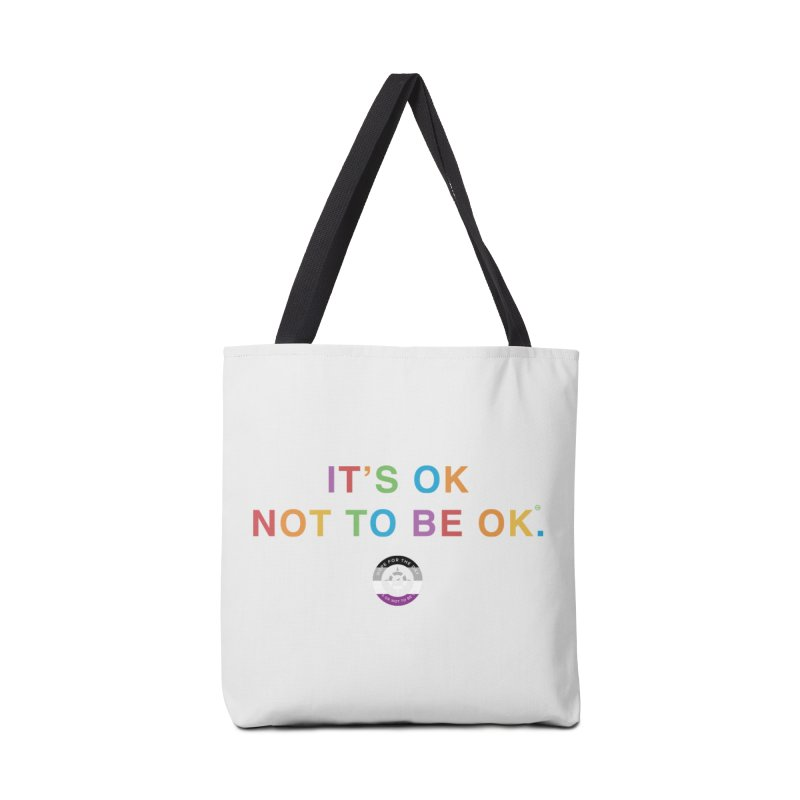 IT'S OK Asexual Flag Accessories Tote Bag Bag by Hope for the Day Shop