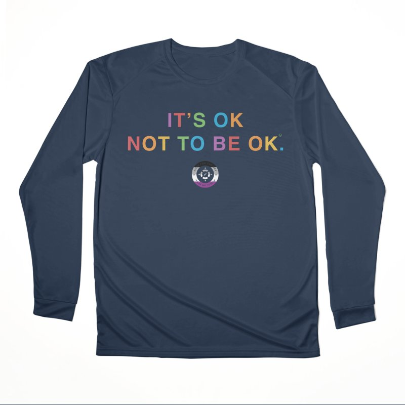 IT'S OK Asexual Flag Men's Performance Longsleeve T-Shirt by Hope for the Day Shop
